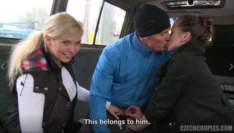 الأزواج التشيكيين الجزء الثالث عشر سكس تشيكي في السيارة دياثة أزواج مترجم عربي